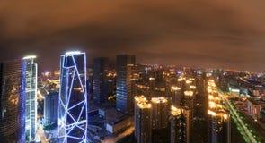 China-Luftfahrt Zijin-Quadrat lizenzfreie stockfotos