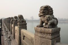 China Lugou Bridge Shish Stock Photo