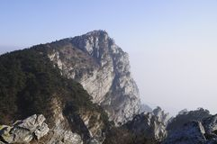 China Lushan mountain range royalty free stock photo