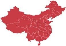 China Map stock illustration