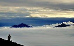 China, mar de nubes Fotos de archivo libres de regalías