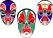 China mask Royalty Free Stock Photos