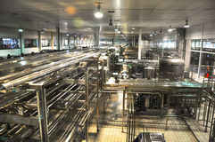 China Mengniu dairy production line Stock Photos