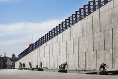 China merkt Nationaal Memorial Day Stock Foto's