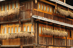 China - minority village Stock Photos