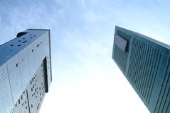 China modern skyscraper. In shenzhen city,china Stock Image