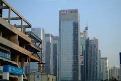 China modern skyscraper under-construction. China modern skyscraperIn the construction  in shenzhen city,china Stock Photos