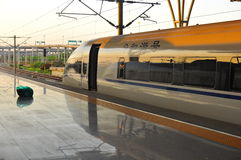 China Modern Train Station Royalty Free Stock Images