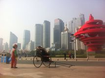 China moderna foto de archivo