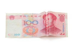 China Money with smile Face Royalty Free Stock Photography