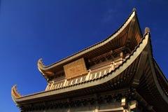 China-Montierung Emei goldenes Gipfel Stockbild