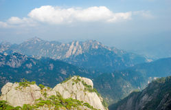 China Mount Huangshan scenery Royalty Free Stock Photography