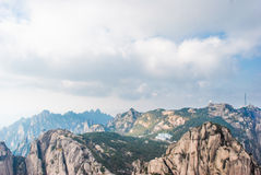 China Mount Huangshan scenery Royalty Free Stock Images