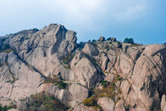 China Mount Huangshan scenery Stock Images