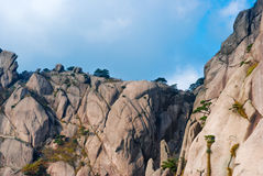 China Mount Huangshan scenery Stock Image