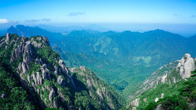 China Mount Sanqingshan scenery Royalty Free Stock Image