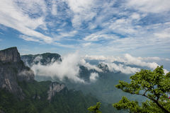 China Mountain at Zhang Jie Jia Stock Image