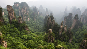 China Mountain at Zhang Jie Jia Royalty Free Stock Photo