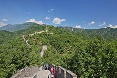 China Mutianyu Great Wall Scenery stock images