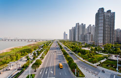 China Nanchang, the beautiful cityscape Royalty Free Stock Photos
