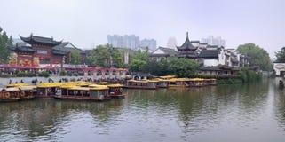China NanJing City Confucius Temple Royalty Free Stock Photo