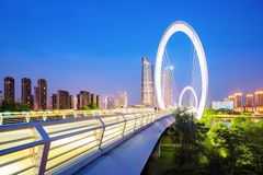 Cityscape of Nanjing, China Stock Images