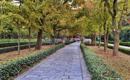 China Nanjing MIng Garden Alley Royalty Free Stock Photos
