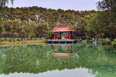China Nanjing MIng Garden Pond Stock Photography