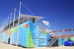 2014 china national beach volleyball championship Stock Photo