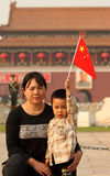 China National Day  Celebrations Royalty Free Stock Photo