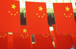 China National Flag Stock Photo