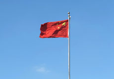 China National Flag Stock Image