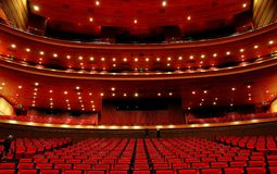 China National Grand Theater Interior Royalty Free Stock Images