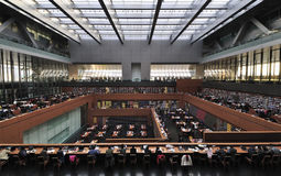 China National Library in Beijing Royalty Free Stock Photo