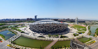 China National Olympic Stadium Royalty Free Stock Photography