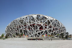 China National Olympic Stadium * Royalty Free Stock Images