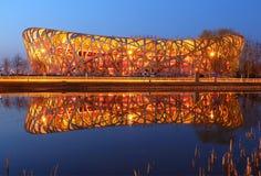 China National Stadium in Beijing Royalty Free Stock Photos