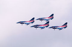 China neuer intercepter Kämpfer - J-10 Lizenzfreie Stockfotos