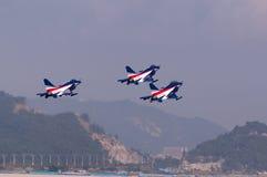 China neuer intercepter Kämpfer - J-10 Stockfotos