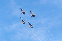 China new intercepter fighter -J-10 Stock Images