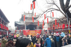 China new year Temple Fair Stock Photo
