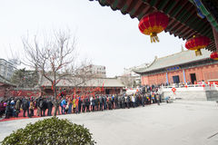 China new year Temple Fair Royalty Free Stock Photo