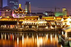 China night scene Royalty Free Stock Photography