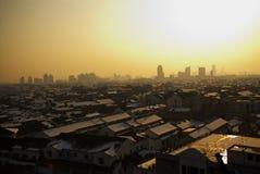 China. Noite Suzhou. Foto de Stock Royalty Free