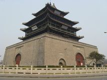 China old city. Xian Ancient city in china royalty free stock image