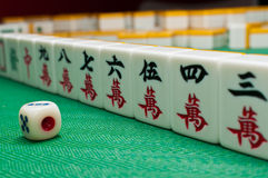 China old game Mahjong Royalty Free Stock Photo