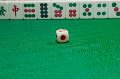 China old game Mahjong Royalty Free Stock Image