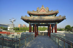 China Olympic Park in Beijing Stock Photography