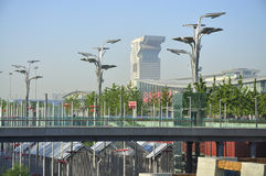 China Olympic Park in Beijing Royalty Free Stock Images