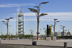 China Olympic Park Tower in Beijing Royalty Free Stock Images